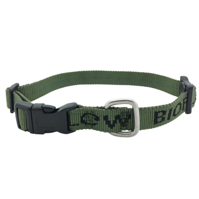 olive bioflow dog collar