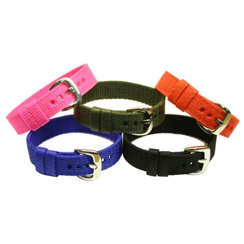 Bioflow replacement straps -nylon weaved explorer 2 strap in many colours