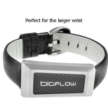 windsor leather strap wristband with 3 magnets