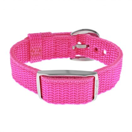 pink nylon weaved explorer 2