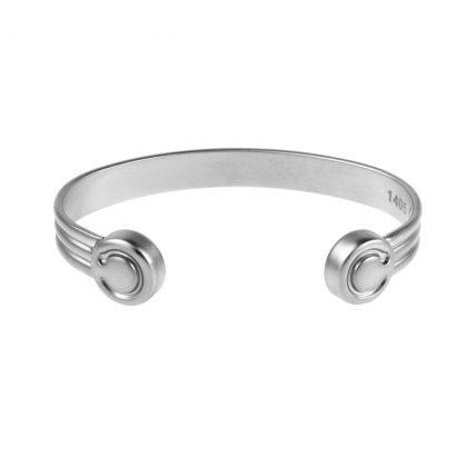 monet bracelet with a matt stainless steel finish