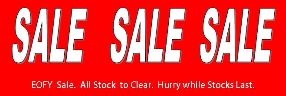 sale sale sale stock clearance.