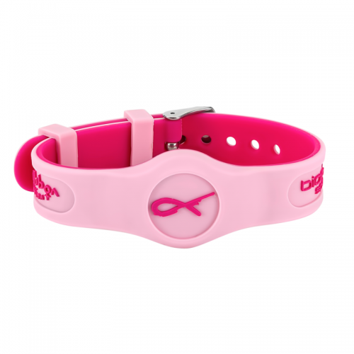 front view Pink Sport Flex wristband