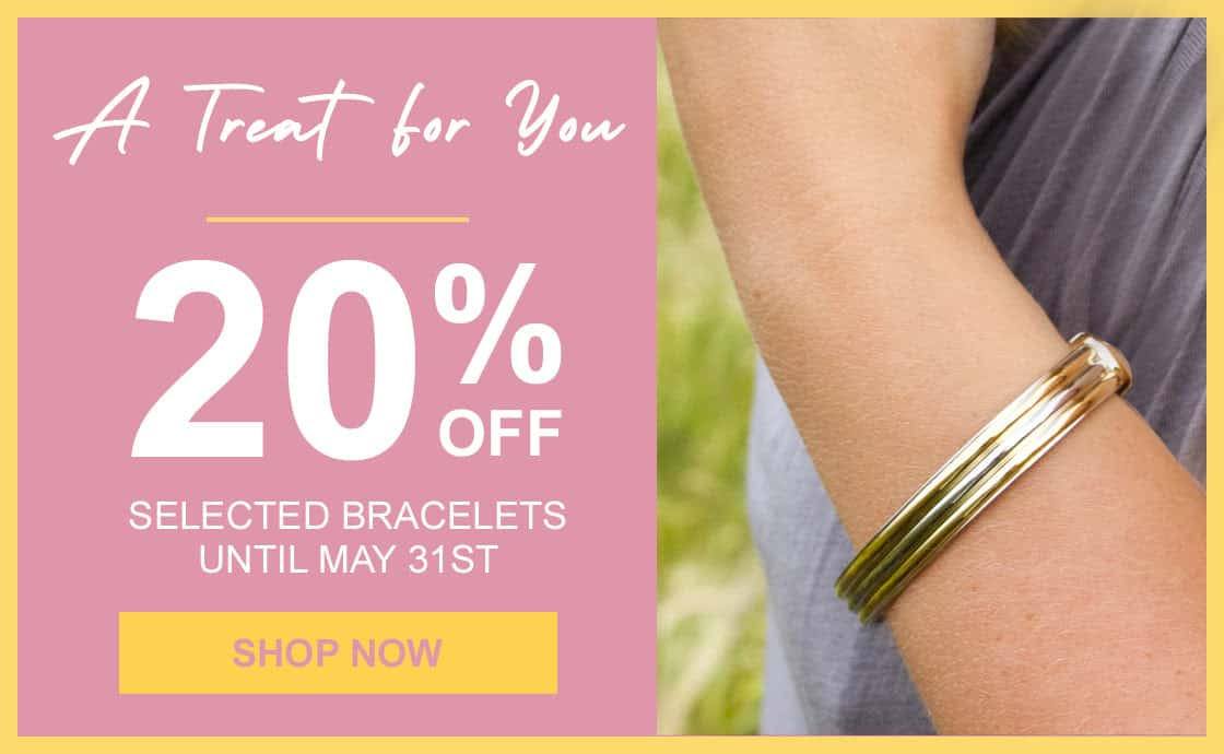 20% off Selected Bioflow Magnetic Bracelets-Treat Yourself