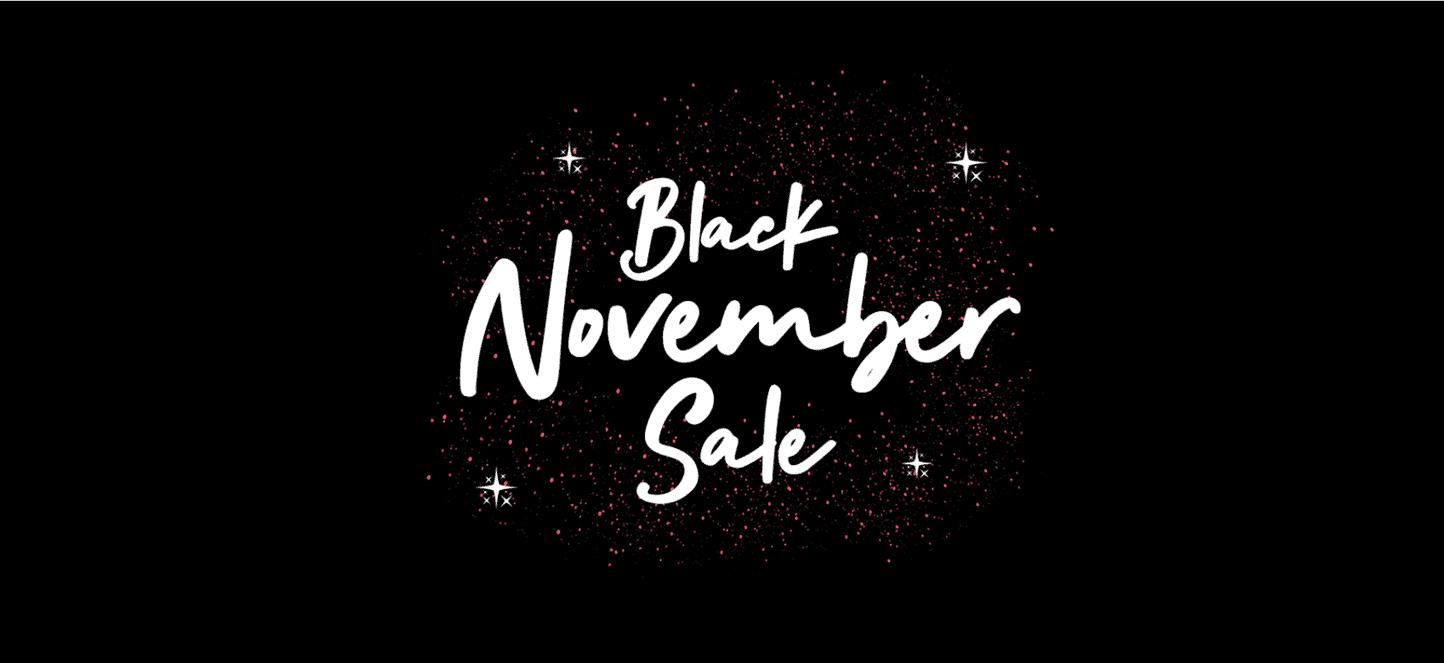 black november sales
