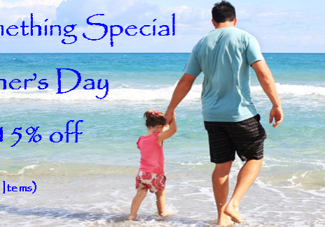Fathers day 2018 beach father and daughter 15%